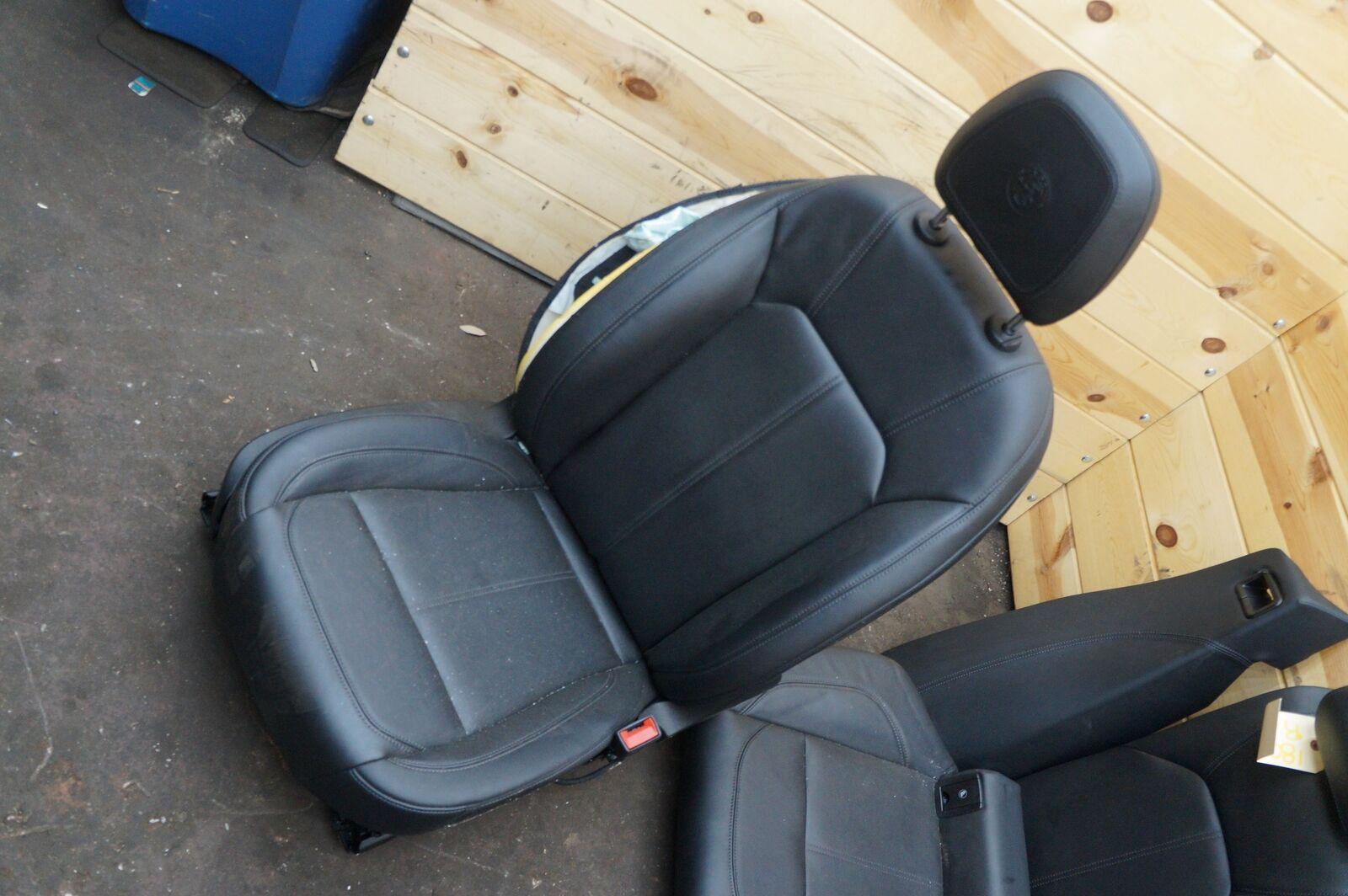 Set Of 7 Front Rear Left Right Seat Assembly Black Alfa Romeo Seats