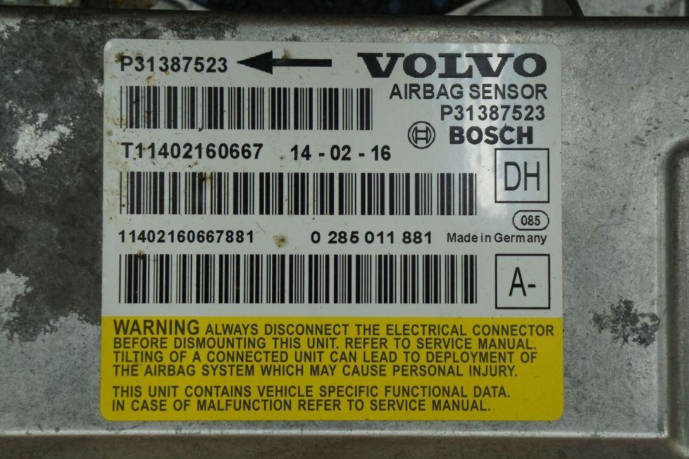 medium resolution of airbag restraint system sensor control