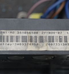 battery mounted fuse box block 3w0937548 3w0937495a bentley [ 1600 x 1067 Pixel ]