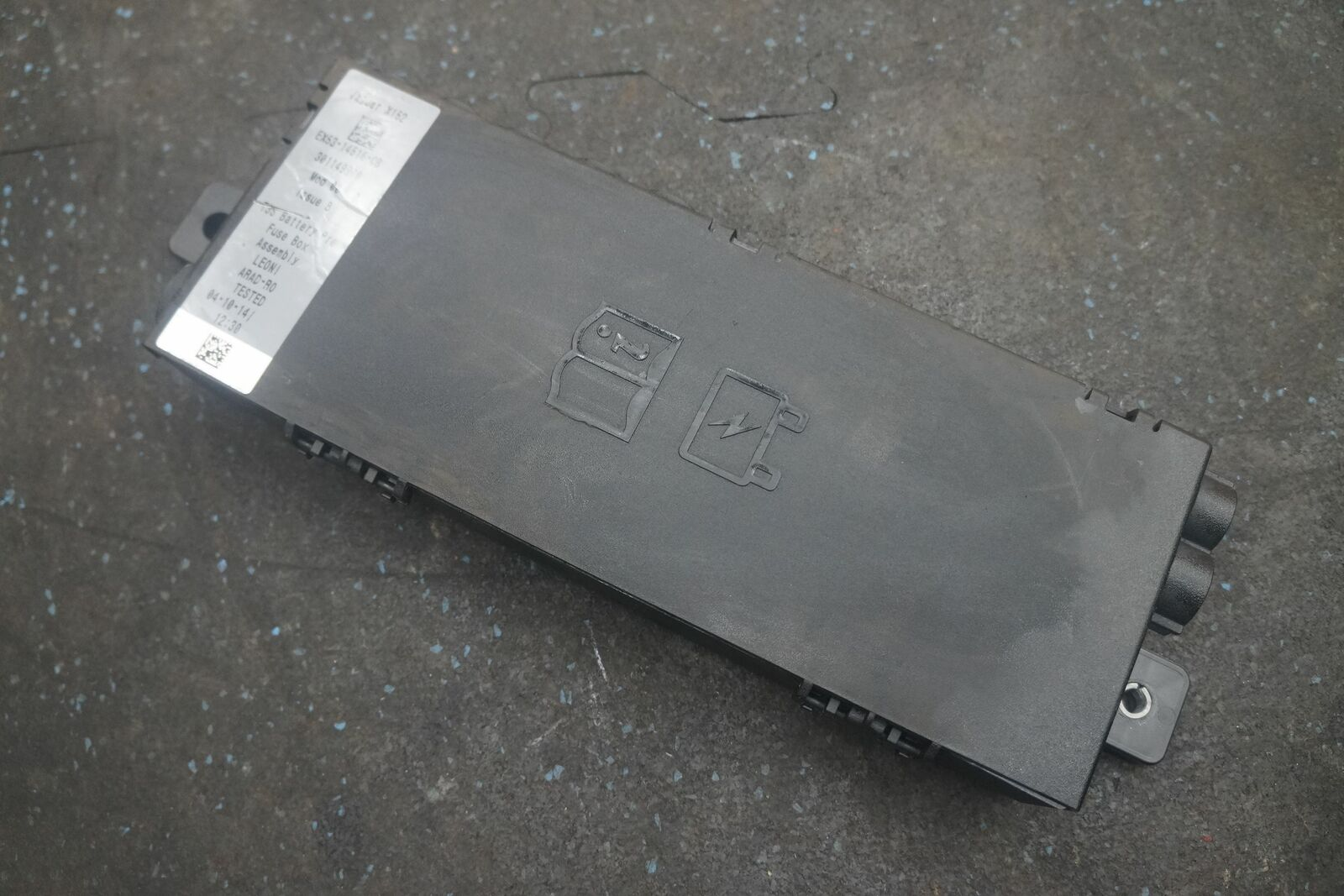 hight resolution of battery pre fuse box block assembly ex5314516cb oem jaguar f type 2015