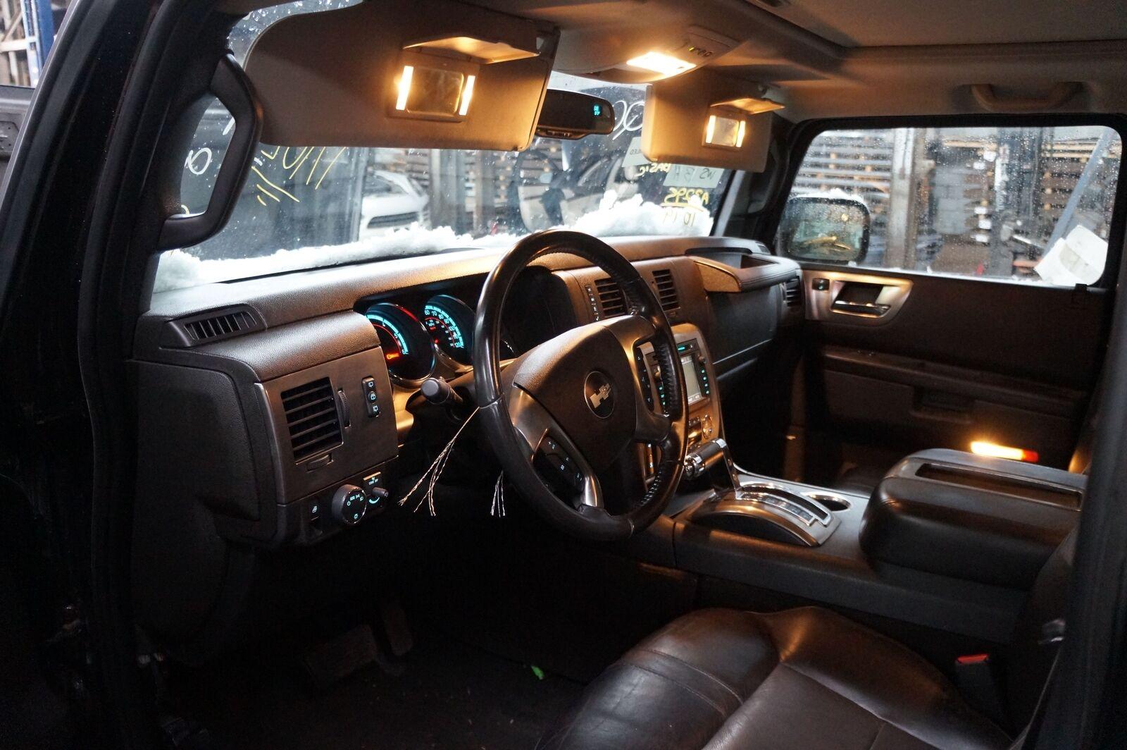 Set Dash Panel End Cap Fuse Cover Black 25907881 25907882 OEM Hummer H2 2008 -09