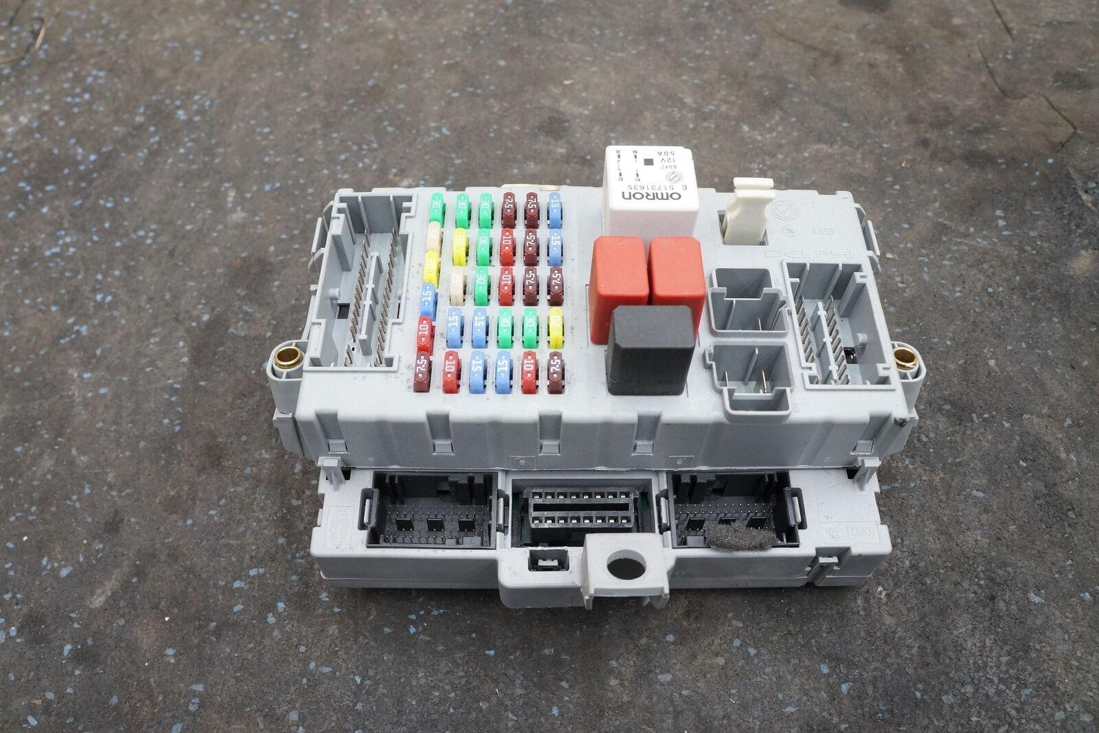 hight resolution of dash fuse box relay body control module 229377 246624 ferrari california 2010