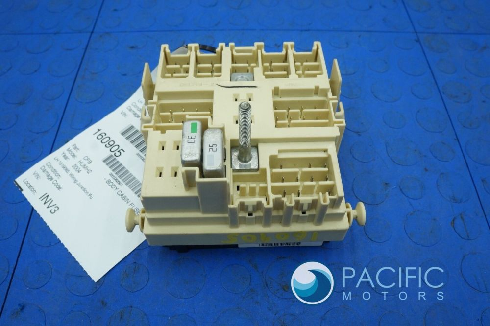 medium resolution of left footwell wiring junction fuse box