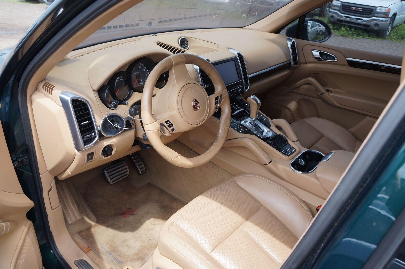 Set Front Rear Interior Door Trim Panel Beige Oem Porsche Cayenne 958 2011 16 Pacific Motors