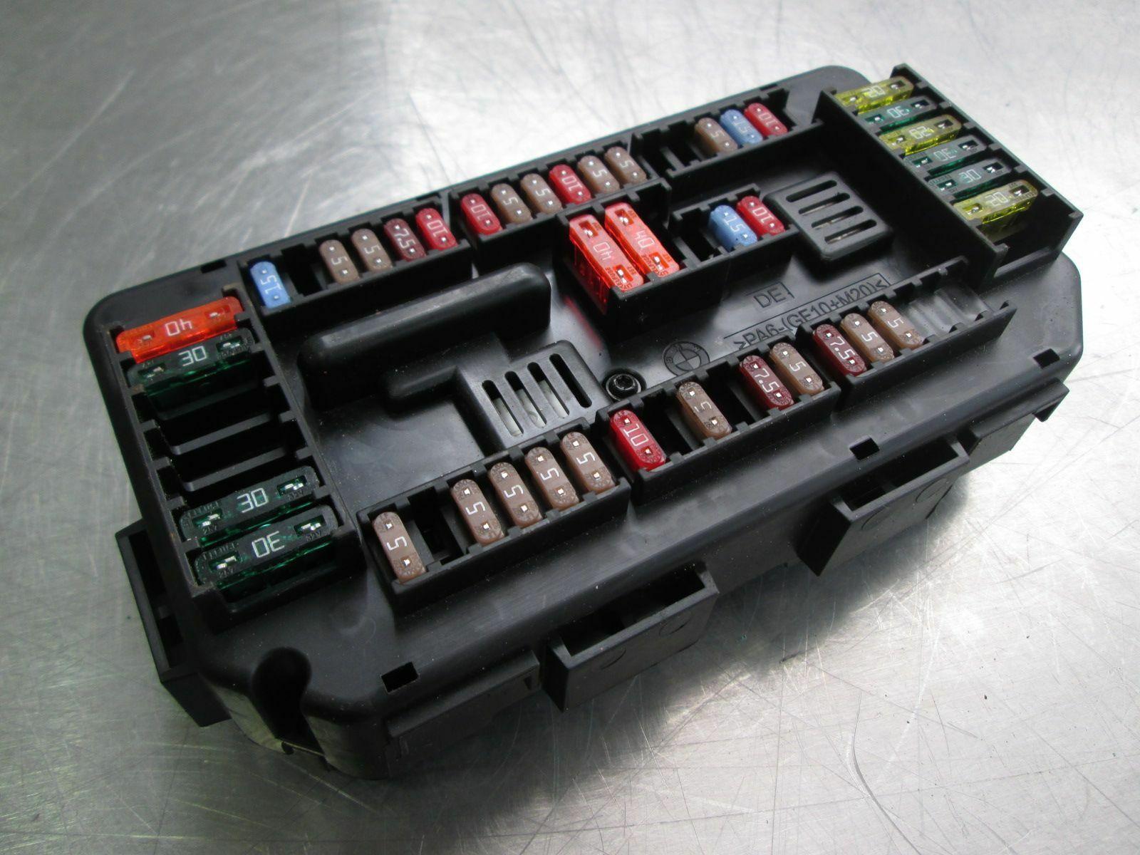 hight resolution of power distribution fuse box block 61149337879 bmw 428i f32 2014 16