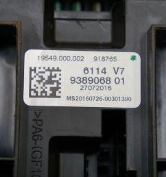 fuse box control module ecu ecm bcm 61149389068 oem bmw 328i  [ 1600 x 1067 Pixel ]