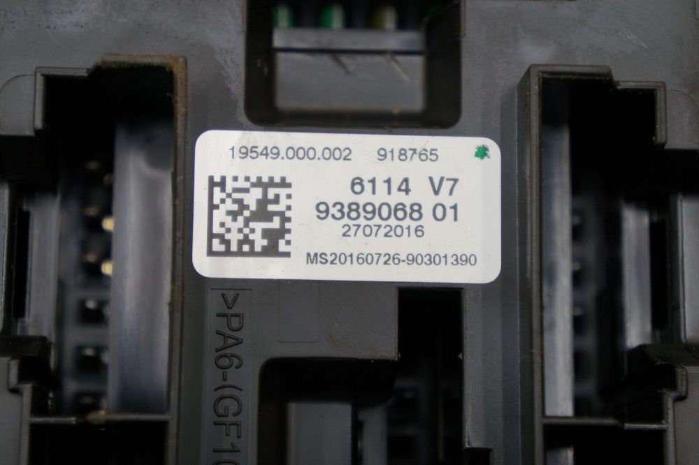 medium resolution of fuse box control module ecu ecm bcm 61149389068 oem bmw 328i