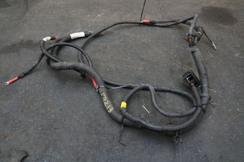 small resolution of battery wiring harness starter to alternator