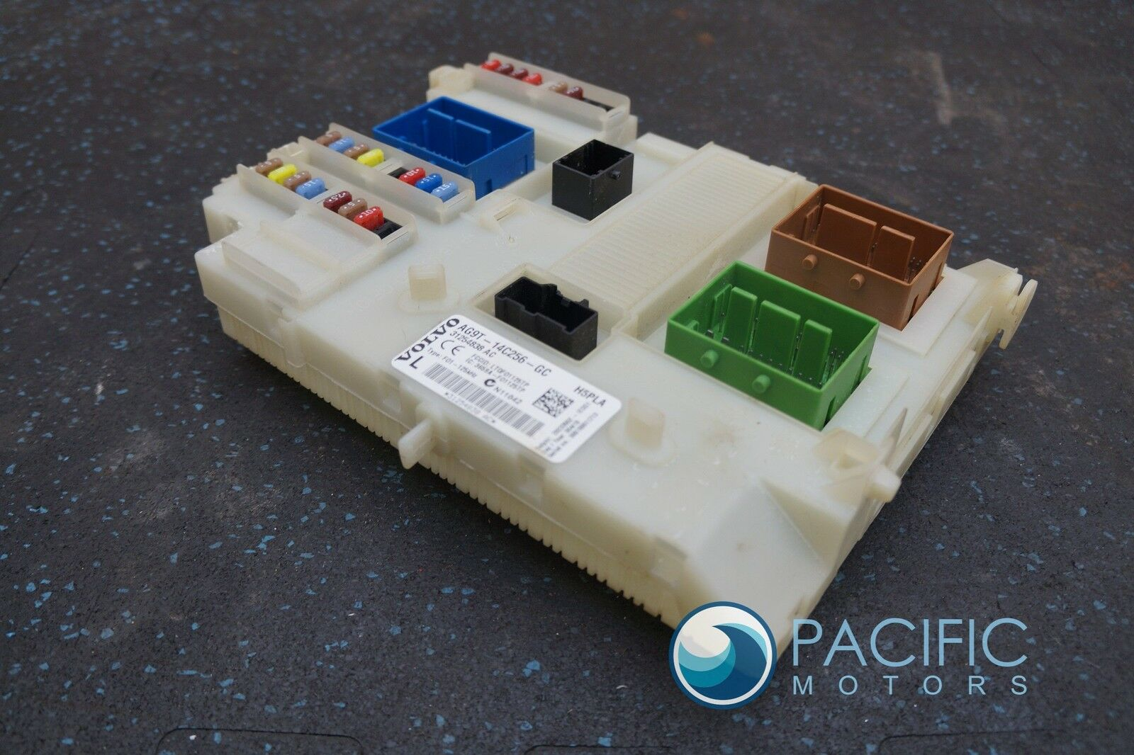 hight resolution of body control module fuse box assembly 31254838 ac oem volvo s80