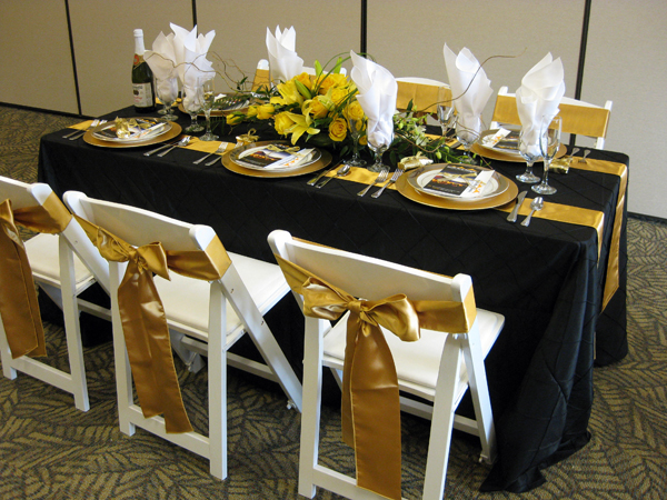 cloth padded folding chairs chair or stool say crossword how to choose the right table linen size for your wedding event › pacific party canopies