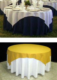 How to Choose the Right Table Linen Size for Your Wedding ...
