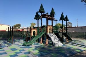 Nature Themed LA USD Chatsworth Park Elementary School