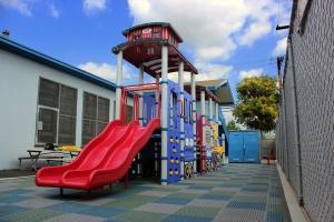 Train Themed Playground