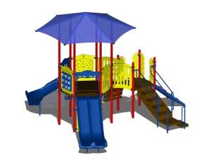 Custom Playcraft Structure For Glenoaks Town Homes