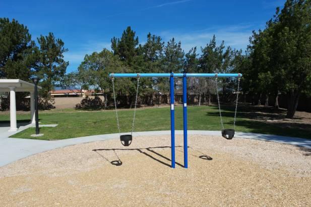 San Bernardino HOA playground swings