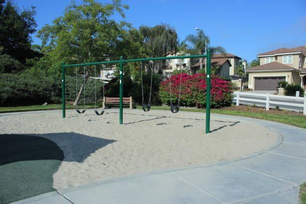 HOA playground equipment swings