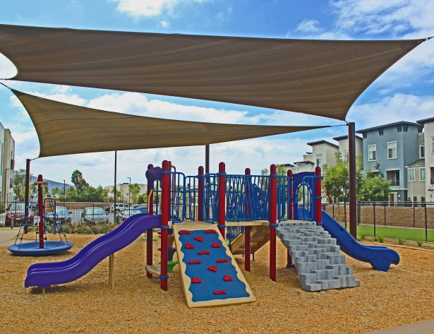 Customized playground equipment suited for Davia Park