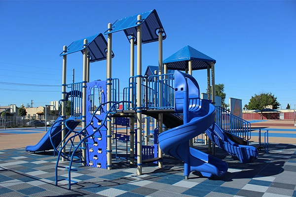 LA USD Loren Miller Elem School Playground Equipment