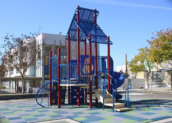 MacArthur Park Elementary Los Angeles Playground Equipment