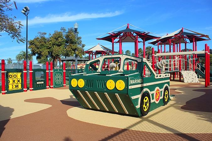 Marine Corps San Diego playground equipment