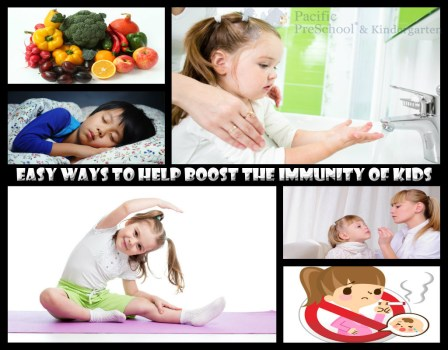 Healthy Habits For Kids to Boost their Immunity