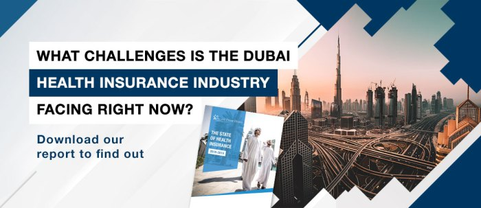 State of Health Insurance in Dubai Banner