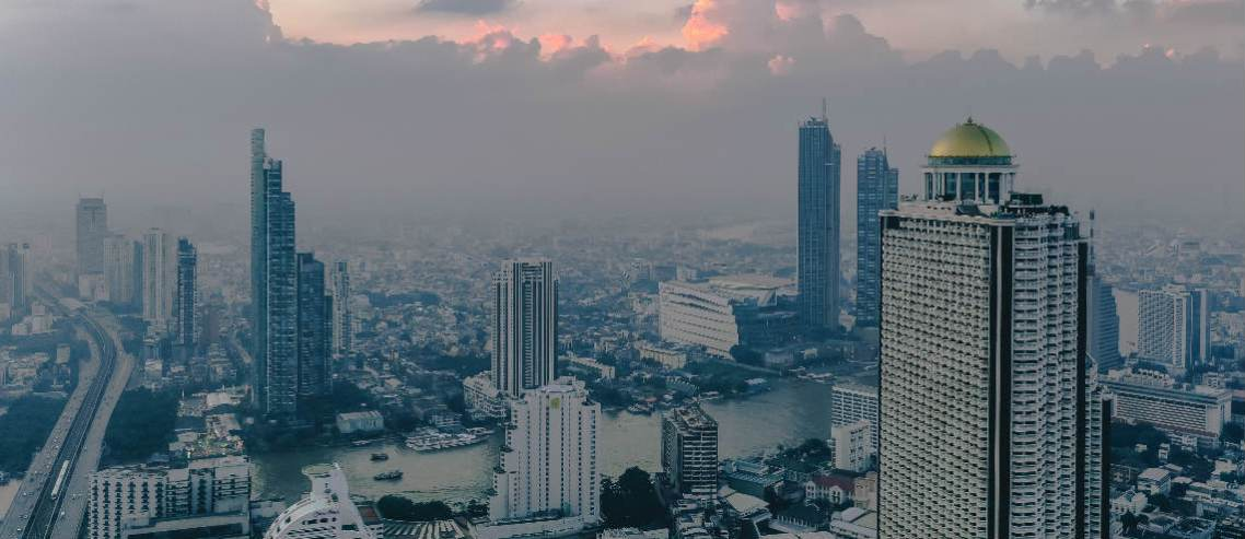 The sources of air pollution in Bangkok