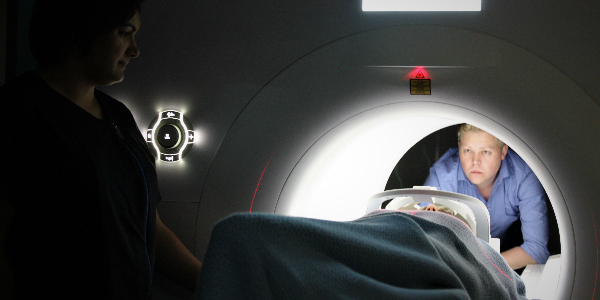 patient in a medical machine undergoing cancer treatment in hong kong