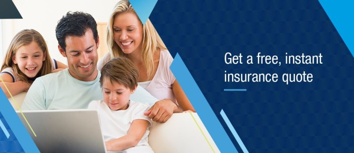 Get an Insurance quote banner