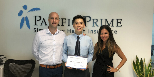 Pacific Prime Singapore Scholarship Program Winner