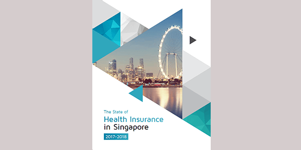 image of the state of health insurance in singapore report by Pacific Prime