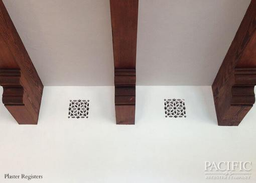 Plaster beams Pacific Register