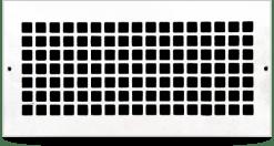 cast aluminum square pacific register