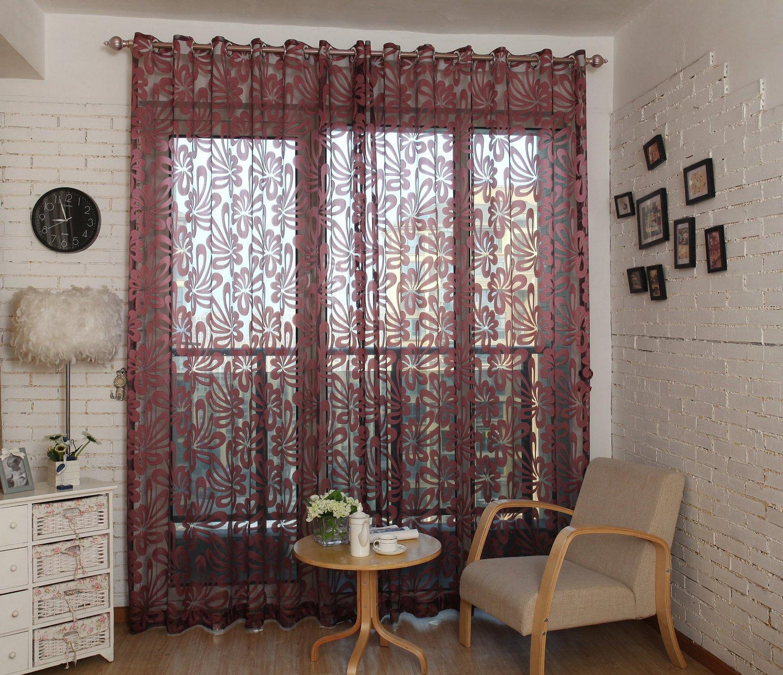 Sheer Curtains Window Treatments  Dolce Mela DMC472
