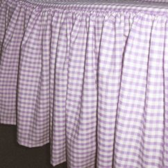 Kitchen Table Sets Dark Blue Cabinets Light Purple Gingham Check Bedskirt (in All Sizes From ...