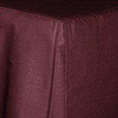 Kitchen Rugs Cabinet Repair Dark Wine (burgundy) Tailored Bedskirt (for Cribs And ...