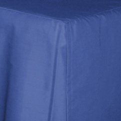 Kitchen Curtains Blue Concrete Countertops Royal Tailored Bedskirt (for Cribs And Daybeds ...