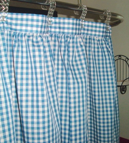 turquoise kitchen rugs aid appliances gingham check shower curtain