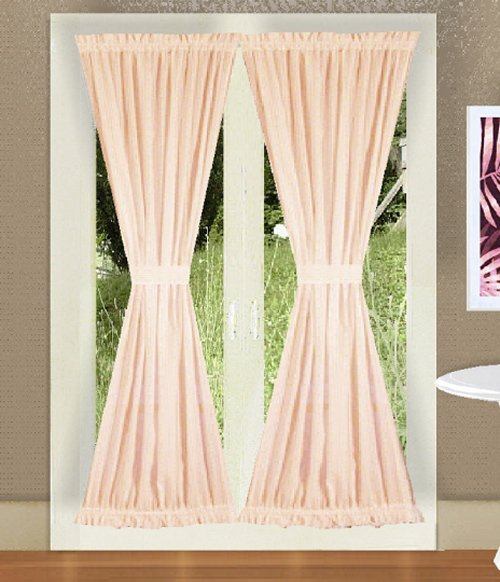 BUY DESIGNER CURTAINS ONLINE  SOLID NUDEBLUSH PINK