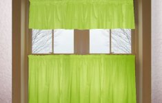 Resourceful Green Kitchen Curtains That Will Always Greet You