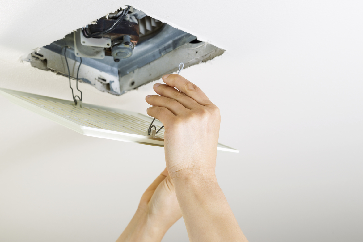 How To Install A Bathroom Vent Through The Roof  Pacific
