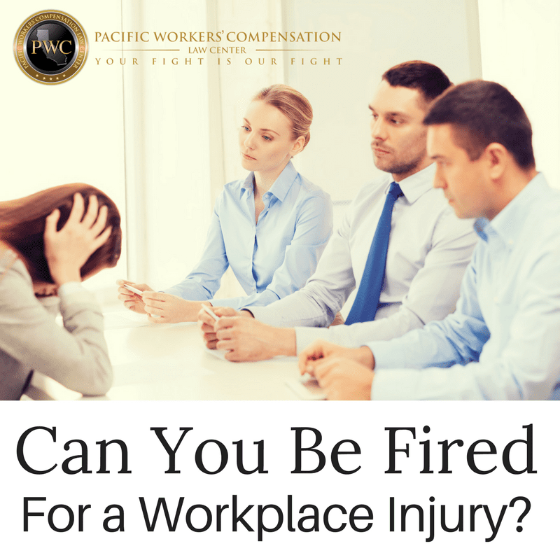 Can You Get Fired For a Workplace Injury?
