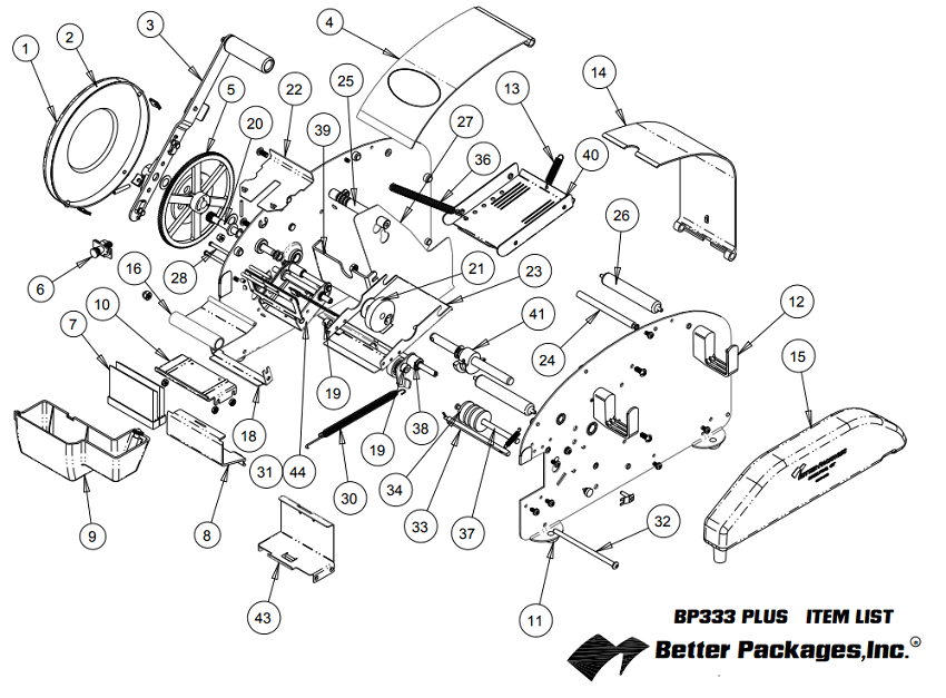 Motor Parts List