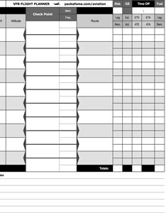 Vfr flight plan navigation log also planner faa form free pdf rh packafoma