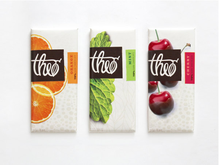 Theo Chocolate  Daily Package Design InspirationDaily Package Design Inspiration