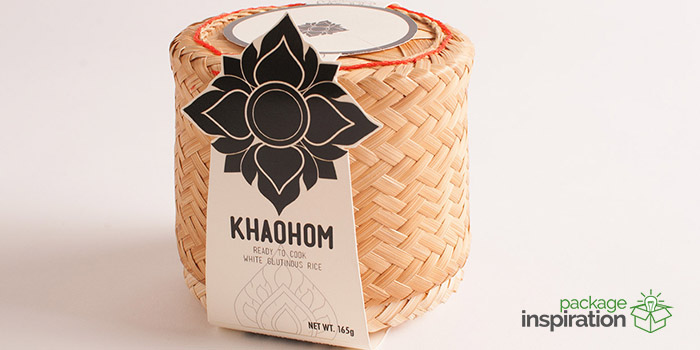 KHAOHOM  Sustainable Rice Packaging  Daily Package Design InspirationDaily Package Design