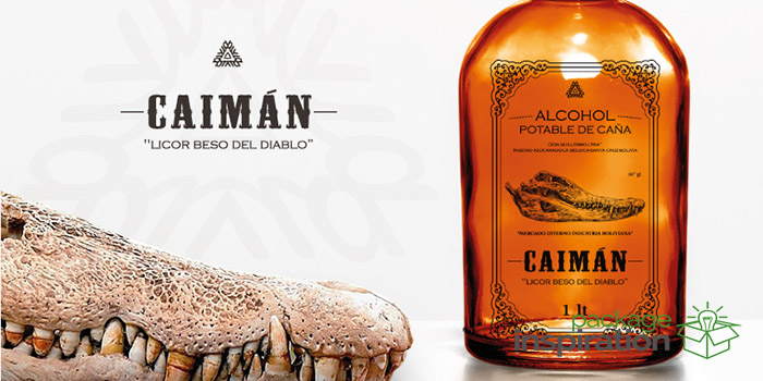 Caimn Alcohol Drink  Daily Package Design InspirationDaily Package Design Inspiration