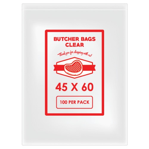 BUTCHER BAG 45 X 60 20MIC X 500