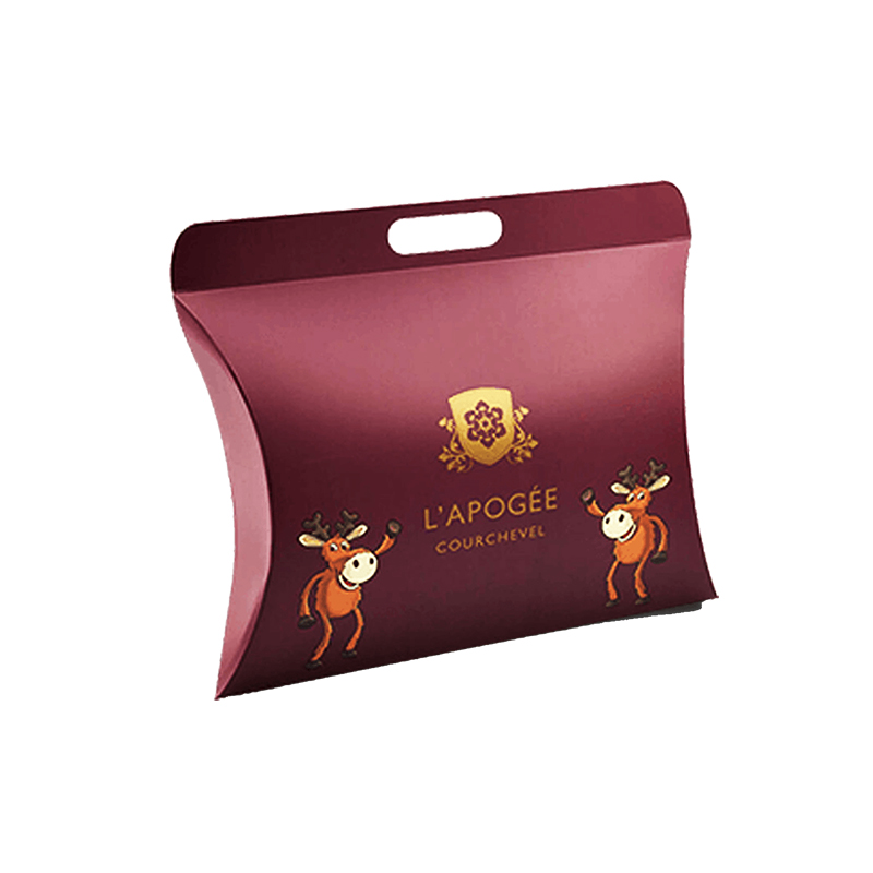 pillow boxes with handle packaging