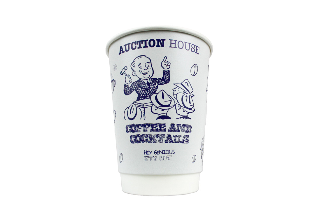 Bespoke custom printed paper plastic cups coffee tea